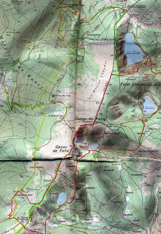 Vosgian-beast's territory Lacs